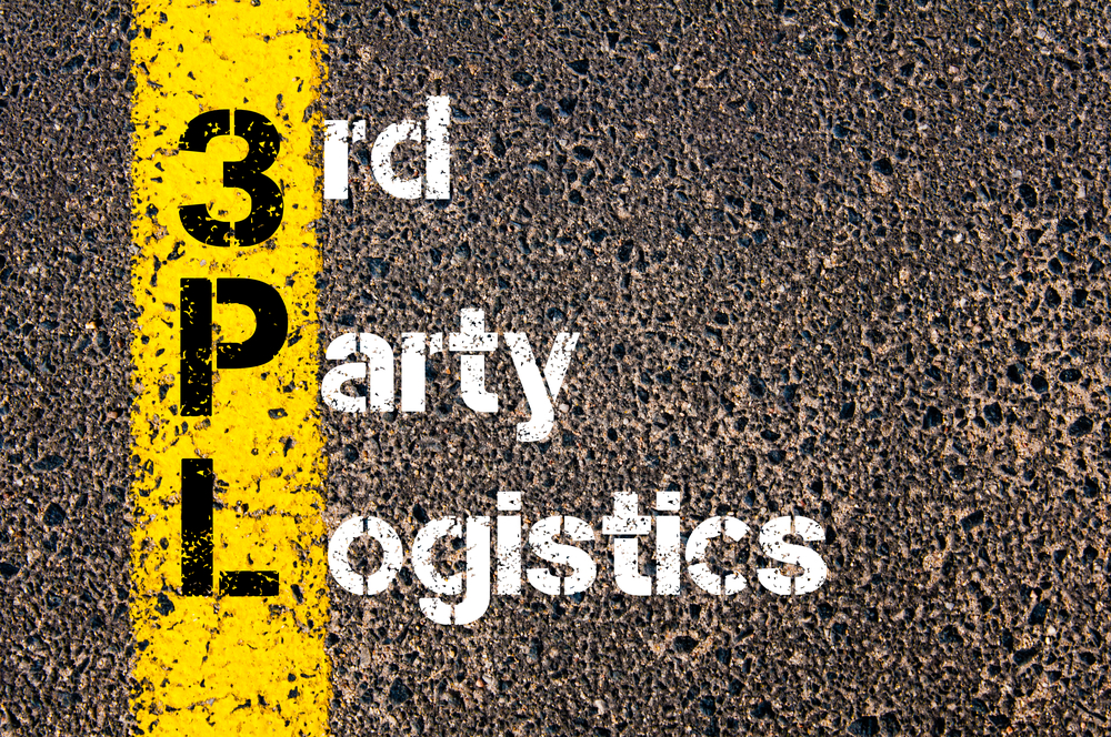 Acronym showing 3PL as 3rd Party Logistics